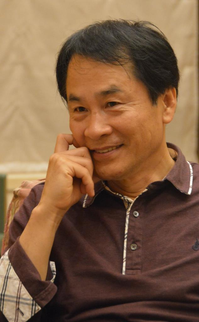 平成27年に来日した際、本紙のインタビューに応じた李承雨さん