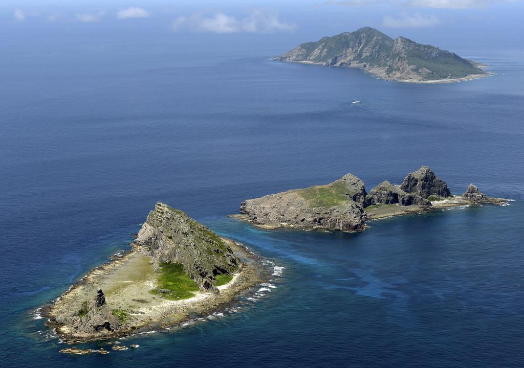 尖閣周辺に中国船 10日連続