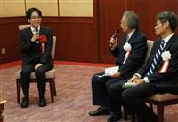 大阪文化賞、将棋の豊島将之二冠に贈呈式 「将棋以外は普通の青年です」