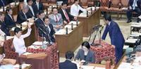 改憲案否決でも首相「自衛隊合憲」 辻元氏に「国民合意怖いのでは」