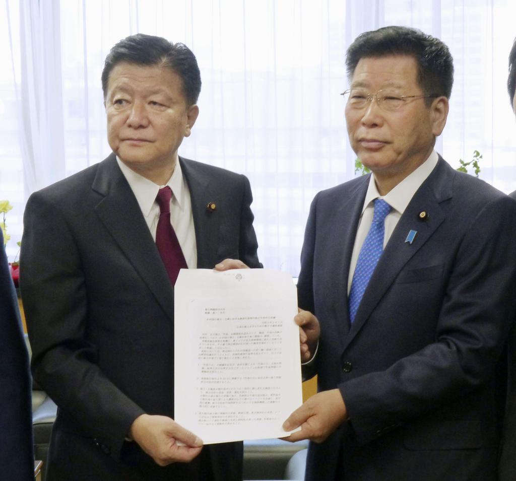 「友好わきまえて」中国の領海侵入を批判 衛藤担当相