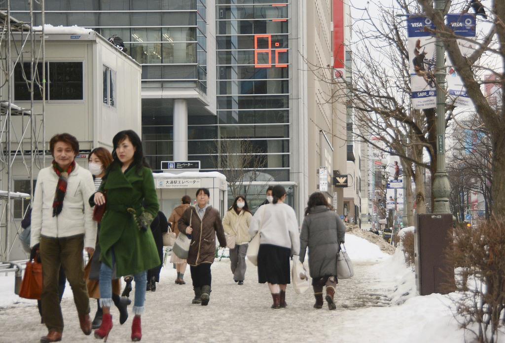 北海道各地で気温上昇 札幌で8度、4月上旬並み