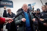 【米大統領選】サンダース氏リード、ブティジェッジ氏追う 民主党の第2戦