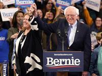 【米大統領選】民主穏健派、サンダース氏に危機感 「左派ではトランプに勝てない」