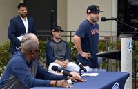 サイン盗み「申し訳ない」 キャンプ始動のアストロズ、選手が謝罪