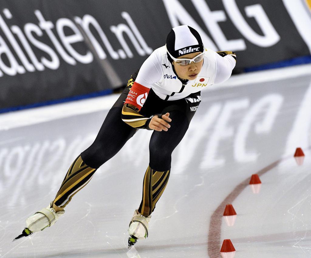 13位の高木菜、不完全燃焼 スケート世界距離別選手権