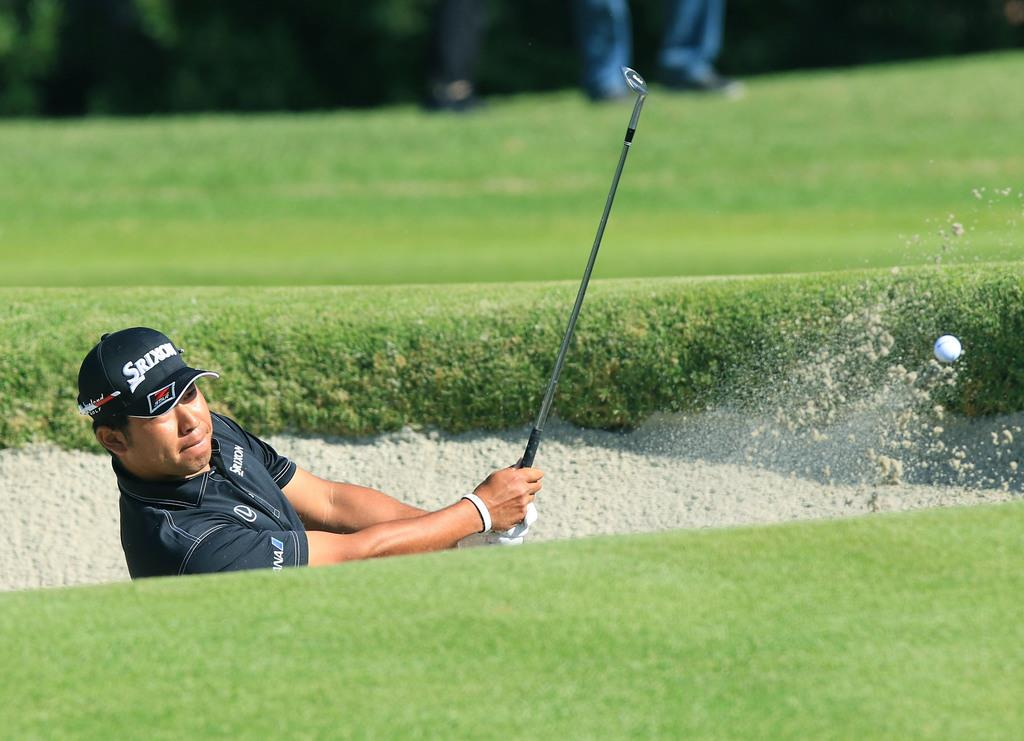 松山71で7打差42位 米男子ゴルフ第1日