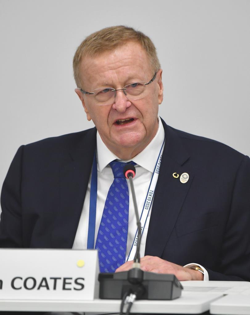 国際オリンピック委員会(IOC)のコーツ調整委員長(代表撮影)