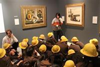 1枚の絵から考える力 京都造形芸術大の子供鑑賞プログラム