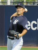 田中がキャンプ初のブルペンで30球、「集中力を保って投げられた」