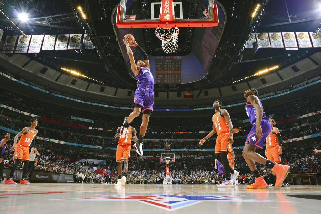 八村、14得点7リバウンド NBA若手球宴に初出場