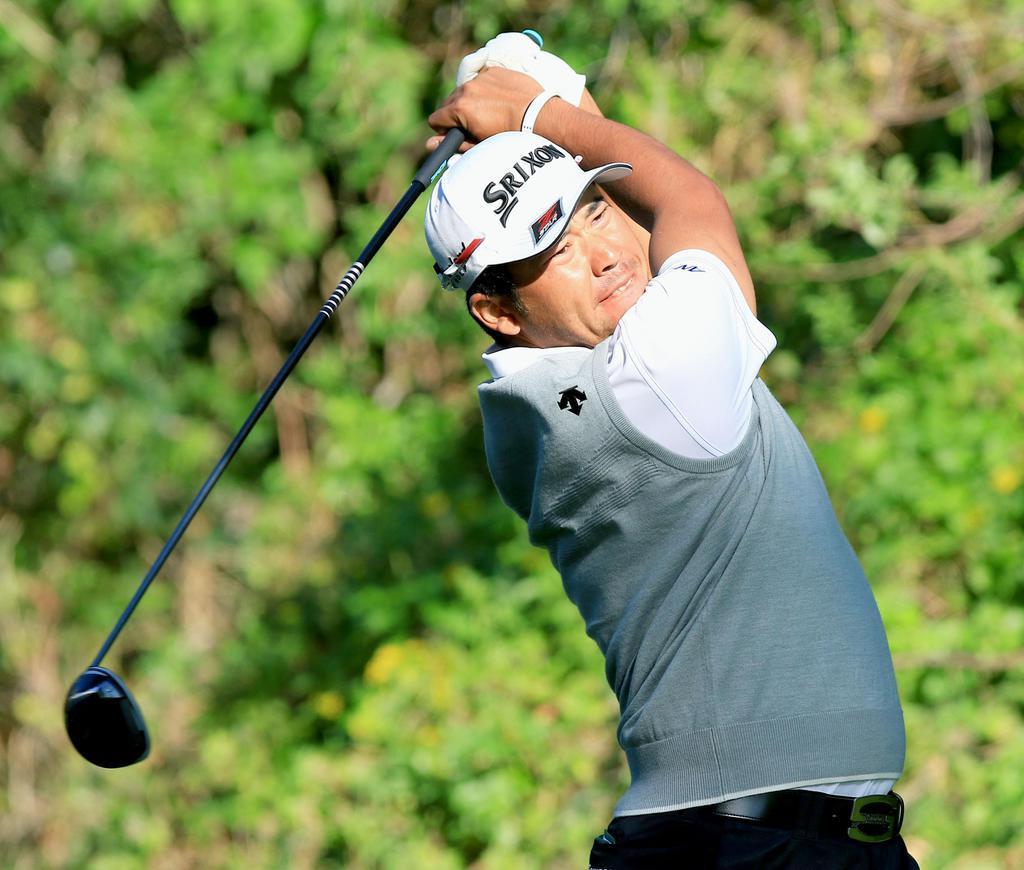 松山が57位に後退、「しんどいラウンドだった」 米男子ゴルフ…