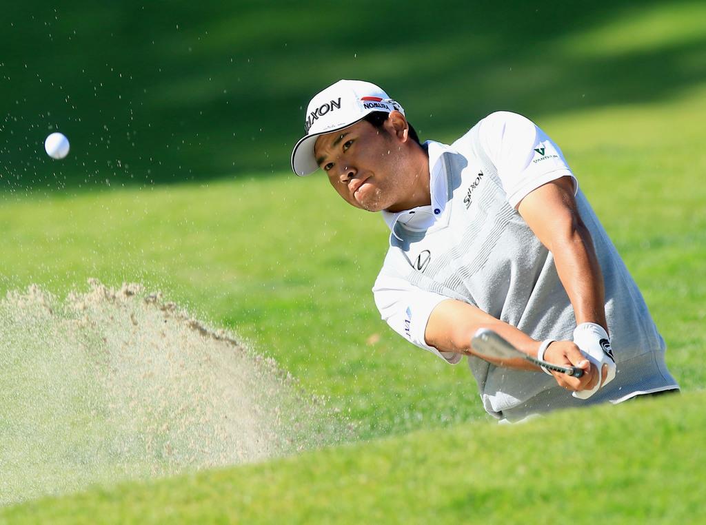 松山がぎりぎりで予選通過、「あとはパター次第」 米男子ゴルフ…