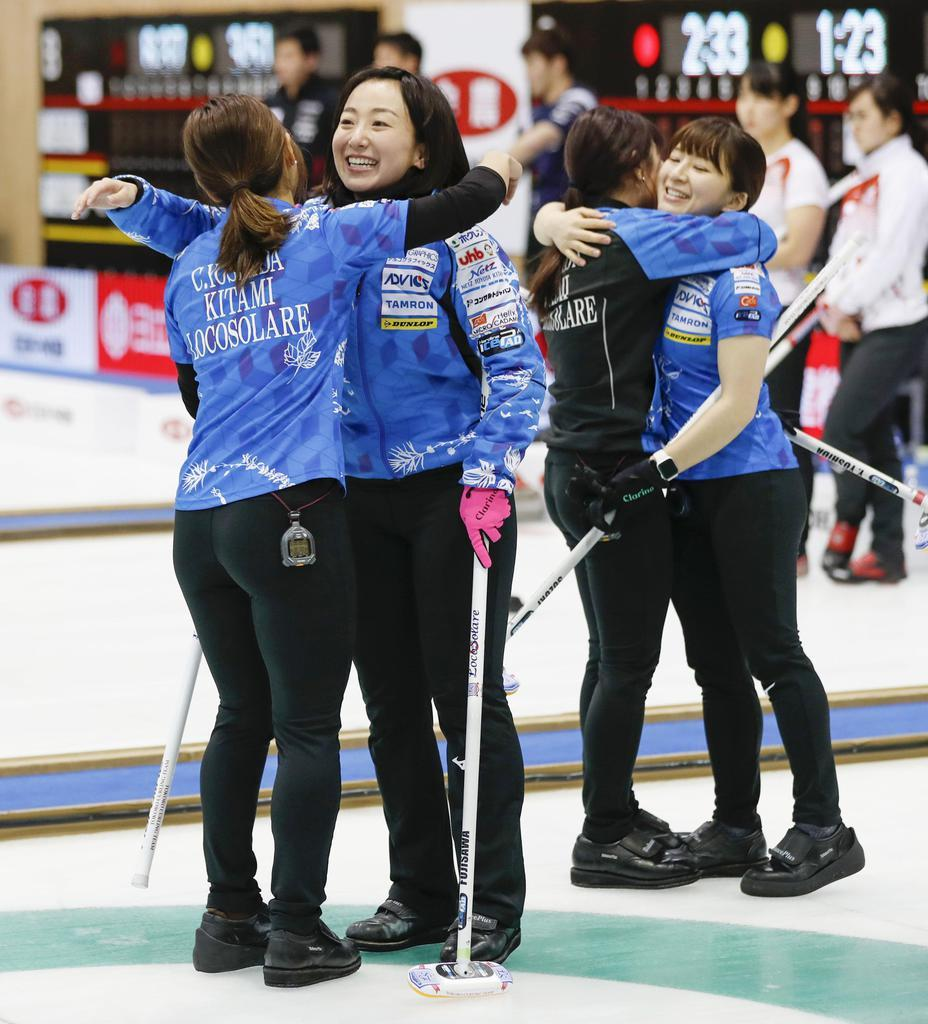 女子決勝はロコ-中部電力 カーリング日本選手権