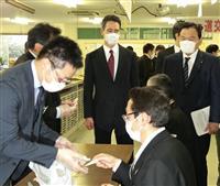 公共交通機関にマスク優先確保 政府で検討と赤羽国交相