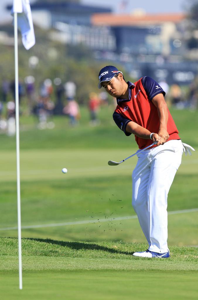 松山が11位に浮上 米男子ゴルフ第3日