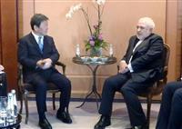 日仏の仲介失敗、米の責任 イラン外相が批判