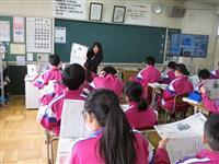 記事の基本は「事実」と「視点」 茨城・石岡中で出前授業