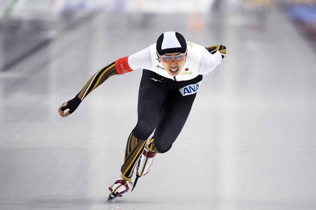 日本新の一戸、タイムを「三度見した」 世界距離別スケート