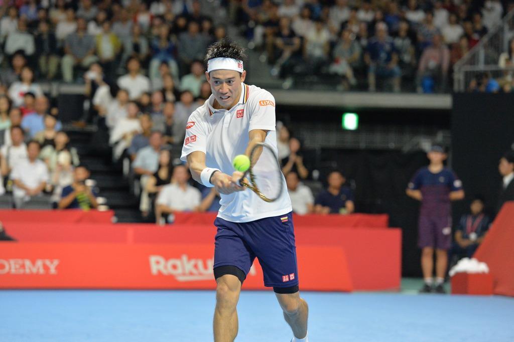 錦織は5つ下がり30位 テニス男子世界ランキング