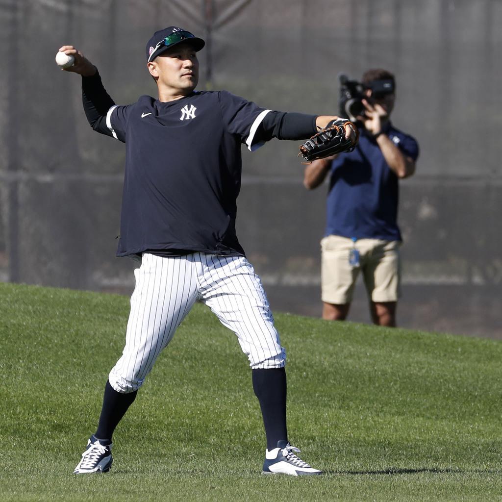ヤンキース田中は軽めの調整 対戦形式の練習へ準備