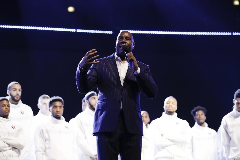 ジョンソン氏がブライアントさん悼む NBAオールスター戦