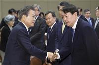 韓国総選挙へ政党再編 投票まで2カ月 大統領選「前哨戦」対決も