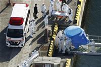大統領専用機で退避検討 韓国政府、クルーズ船乗客