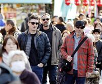 1月の訪日客1・1%減 春節の中国人客は2割減