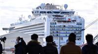 日本政府のクルーズ船対応「好ましい」 WHO幹部が評価