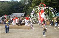 三重・伊賀市の「勝手神社の神事踊」、ユネスコ遺産の提案候補に