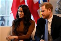 英王室「離脱」 ヘンリー王子夫妻、引退は3月末に