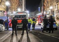 ドイツで極右テロか、9人死亡 中東移民集まるバー銃撃