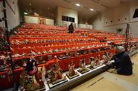 ひな人形7千体、実施します 群馬・沼田の老神温泉