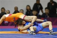 川井姉妹、向田が決勝進出 レスリングのアジア選手権