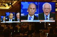 【米大統領選】民主討論会の視聴者、「ブルームバーグ効果」で最大