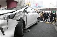 京都・四条通の繁華街交差点で多重事故 歩行者ら4人が搬送