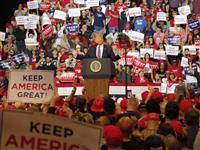 【米大統領選】トランプ大統領がラスベガスで大規模集会 民主党の指名争いに対抗