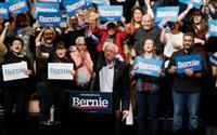 【米大統領選】ネバダ州党員集会、サンダース氏が勝利 先頭走者としての立場強固に