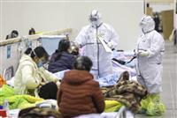 新型肺炎 中国の死者2442人に