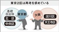 言いがかり? 大阪都構想「中央区」「北区」に東京の同名2区が再考求める訳