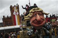 ベルギーのカーニバル「反ユダヤ的」 英国からかう山車も