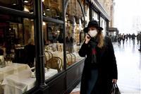 イタリア死者6人に 感染者200人超 観光名所も閉鎖