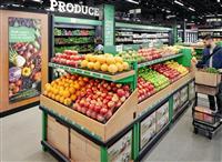 レジなし食品スーパー開店 アマゾン AIを活用