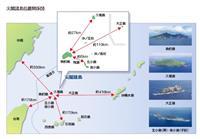尖閣周辺に中国船 8日連続