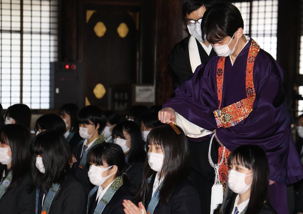 仏門に帰依もマスク姿で 西本願寺で帰敬式 - 産経ニュース