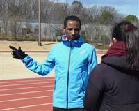 難民選手が東京マラソンに初参加 エチオピア出身のヨナス・キンデ