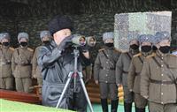 金正恩氏、党高官ら解任 軍打撃訓練も視察