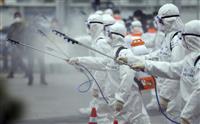 韓国の感染者3千人超す 新たに813人確認 当局者「増加は続く」