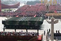 中国ミサイル発射100発超 昨年、日本射程も多数 米衛星探知